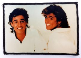 Wham! - 'Andrew & George White Background' Photo Patch